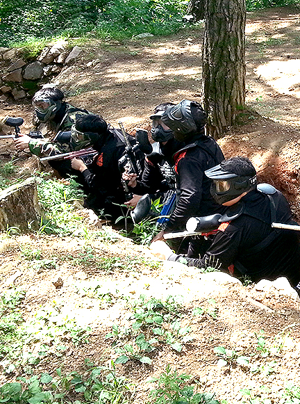 PAINTBALL SURVIVAL GAME